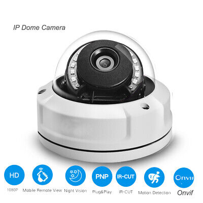 2MP IP 4MP Camera 2.8mm lens Vandalproof Night Vision IR  ONVIF Motion Detection