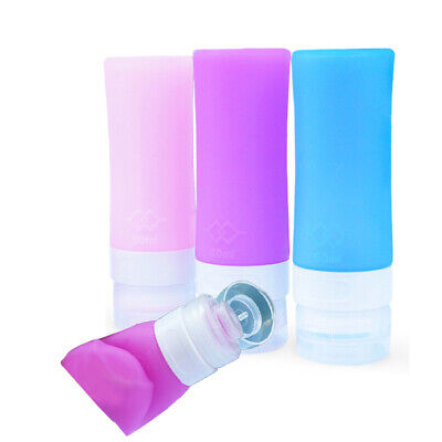 Tube Squeeze Bottle Empty Silicone Mini Travel Cosmetics Shampoo Lotion Bottle