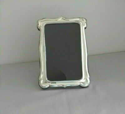Antique large sterling silver photo frame Hallmarked for London