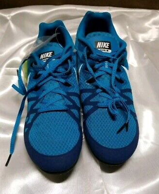 the latest 559a2 85d8d Nike Zoom Rival M 8 Men s Blue Track Sprint Spikes Shoes 806555-414 Size 11