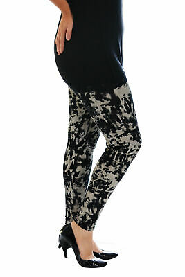 New Womens Leggings Plus Size Ladies Tie Dye Full Length Abstract Pants Nouvelle