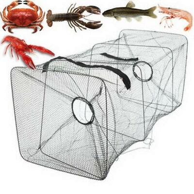Outdoor Foldable Fishing Bait Trap Dip Net Cage Crab Fish Minnow Crawdad Shrimp%