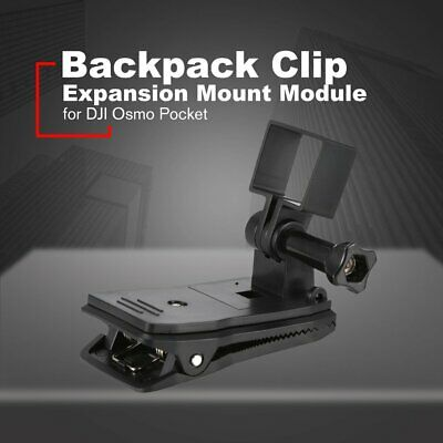 Backpack Clip for DJI Osmo Pocket Expansion Module Connector Stand Bracket FK
