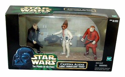 NABRUN Lei Hasbro Star Wars-Power of the Force-Cantina Aliens-labria