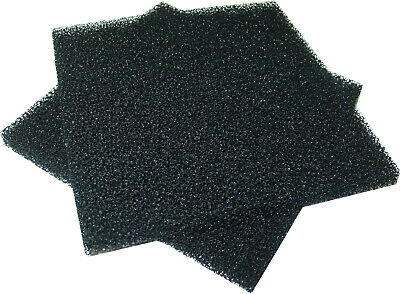 2 Pcs Activated Carbon Filter, 130x130x10mm, Air, Water, Rauchabsorber As14