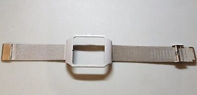 Sony SmartWatch 3 SWR50  Silver Housing (Adapter) & Silver Metal Mesh Strap