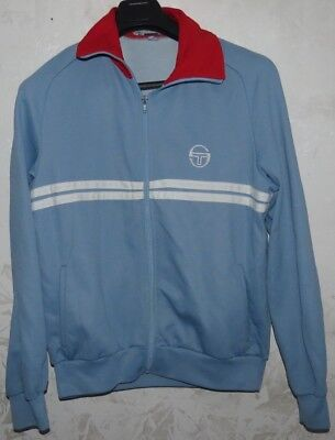 Giacca Jacket Jersey Suit Chandal Tennis Tacchini Italy Vintage Sz.48 No Shirt