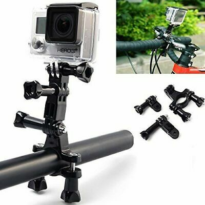 Bike Bicycle Clamp Handlebar Seatpost Pole Mount Holder For Gopro Hero7 6 5 4 3+