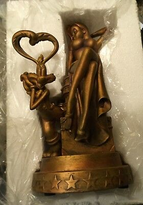 Disney D23 EXPO Bronze tone finish Roger And Jessica Rabbit Figurine Le 50