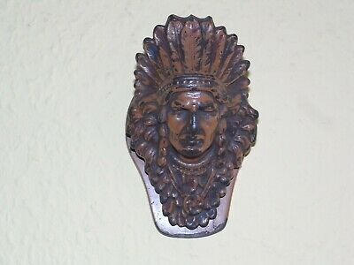JUDD MFG Co. 5251 Gusseisen vintage American Indian Chief cast iron letter clip