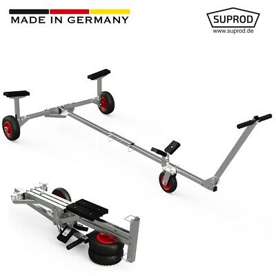 Foldable Launching Trolley for small Inflatable Boats, Dinghies, SUPROD TR200