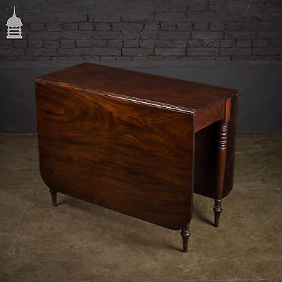 Large 19th C Mahogany Gate Leg Table