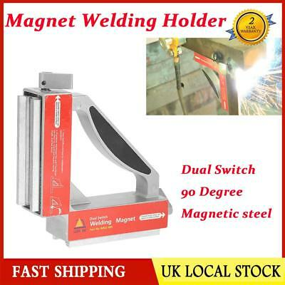 Dual Switch 90 Degree Magnetic Welding Holder Machine Welding Angle Magnet Clip