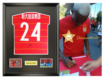 0c6466068 Anderson Talisca hand signed autograph jersey with coa Brazil Guangzhou FC