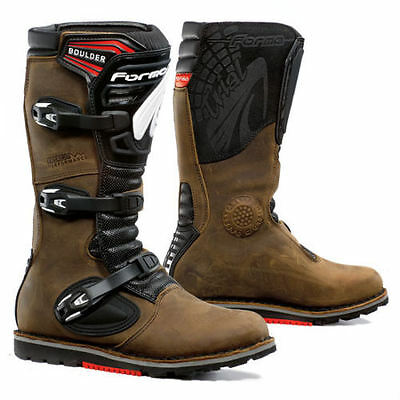 Forma Boulder Brown Trials Boots - All Sizes - Cheapest On Ebay