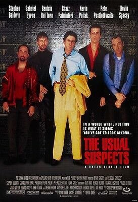 Usual Suspects movie poster print : 11 x 17 inches - Gabriel Byrne, Kevin Spacey