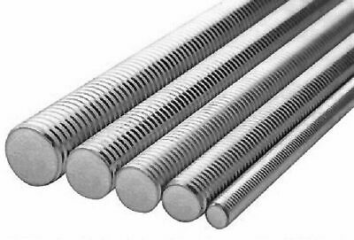 "1""-8x3' ASTM F593 ALL THREAD ROD STAINLESS STEEL 316 (4 STICKS)"