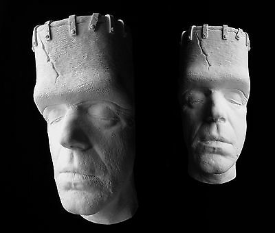 "Fred Gwynne Herman Munster Frankenstein Life Mask Bust ""The Munsters"""