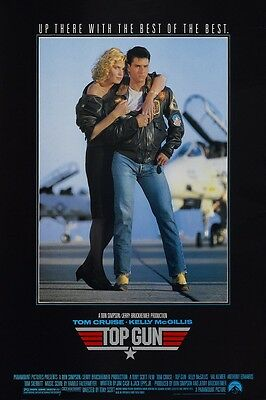Top Gun movie poster - Tom Cruise poster - 11 x 17 inches (style e)