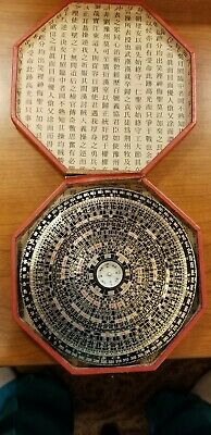 """Antique """"Early Chinese Fortune Telling Wheel  c.1830's"""