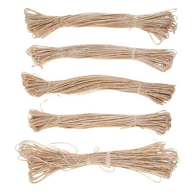 1.3kg Vintage Raffia Stripe Paper Twisted String Ribbon Rope DIY Craft Decor
