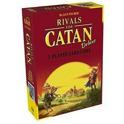 Rivals for Catan Deluxe 2 Player Card Game Klaus Teuber 3134 FACTORY SEALED