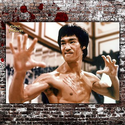 """/""""Enter The Dragon/"""" Bruce Lee Classic Martial Art Movie Poster 2..Various Sizes"""