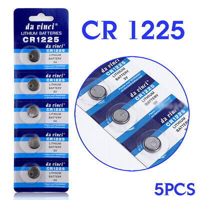 5x 3V CR1225 Cell Coin Button Battery Remote Toys LM1225 BR1225 ECR1225 KCR1225