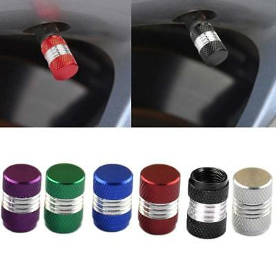 4Pcs Aluminum Alloy Car Motorcycle Weel Tire Valve Stem Cap Dust Cover ot