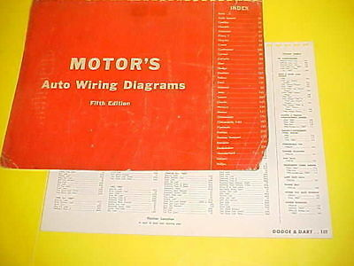 1960 1961 1962 1963 1964 dodge dart gt polara 880 convertible wiring  diagrams