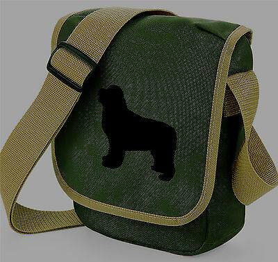 Newfoundland Dog Walkers Bag Shoulder Bags Newfie Handbag Birthday Xmas Gift