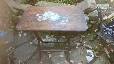 Antique hand painted occasionalTable