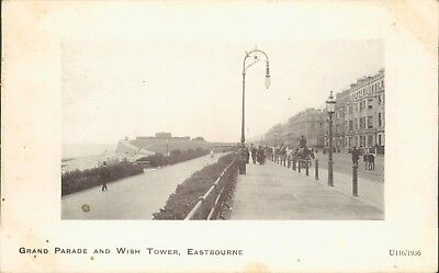 Eastbourne; grand parade and wish tower; 1911; Arcadia bazaar