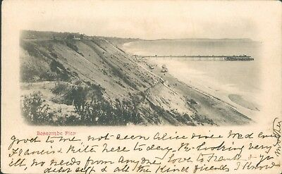 Bournemouth; Boscombe pier; 1905
