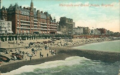 Brighton Metropole and grand hotels; 1908