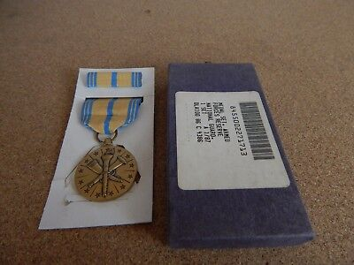 U.S. Armed Forces Reserve medal Boxed
