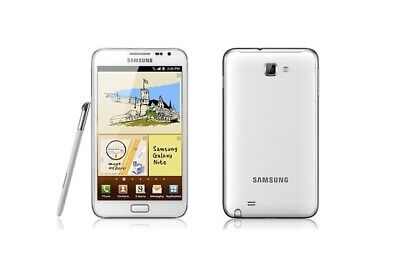 Samsung Galaxy Note in Weiß Handy Dummy Attrappe (Note 1)  Requisit Deko Werbung