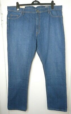 """NEW MARKS /& SPENCER M/&S TAPERED STAY FRESH BLACK JEANS W 30/"""" 42/"""" 44/"""" LEG S R L"""