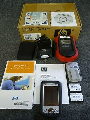 HP IPAQ H2210 Pocket PC with extras