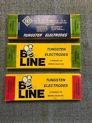 OKI Supply And B LINE Tungsten Electrodes 3 Total