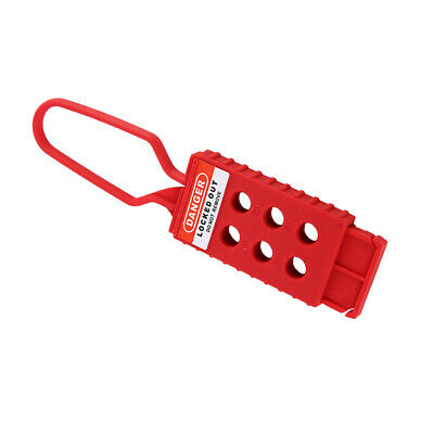 6 Hole Nylon Safety Fully Insulated Insulation Lockout Hasp LOTO Device