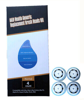 High Quality Facial Skin Clean System Replacement Brush Heads Normal