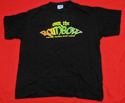 OVER THE RAINBOW Original Concert T-Shirt 2009 Size M Blackmore Joe Lynn Turner