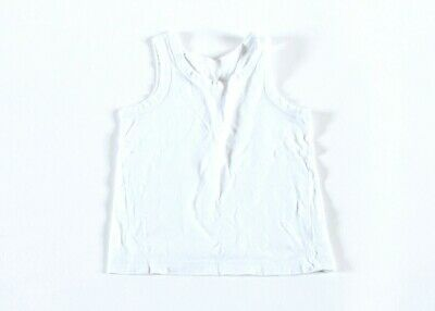 Boys/Girls Vests - White – 2-3 years – 2 Pack
