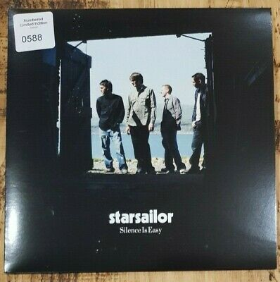"""STARSAILOR - Silence Is Easy ~7"""" Vinyl Single~ *Numbered Limited Edition*"""