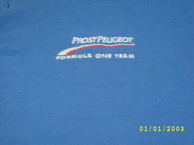 polo shirt formule 1 prost grand prix