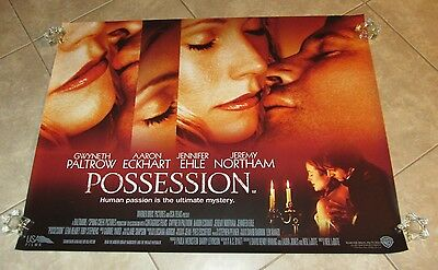 Possession Filmposter (UK Quad) Gwyneth Paltrow Poster, Aaron Eckhart Poster