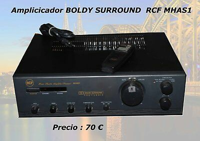 Amplificador RCF BOLBY SURROUND MHAS1