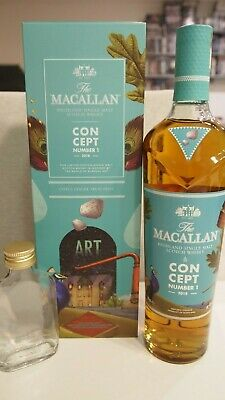 Whisky Probe Sample Macallan CONCEPT NUMBER 1 40% Vol. 5cl 50ml NO MINIATURE