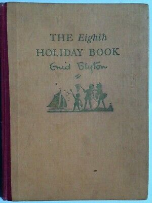 Enid Blyton's The Eighth Holiday Hard Back Book **Free UK Postage**